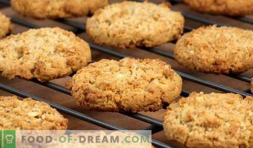 Овес колачиња - најдобрите рецепти. Како да се готви овес колачиња.