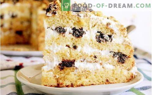 Мед торта - најдобри рецепти. Како правилно и вкусно да готви мед торта.