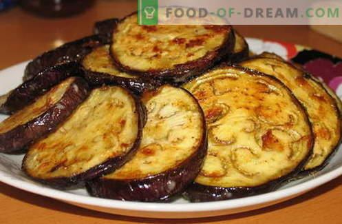 Модар патлиџан со лук - најдобри рецепти. Како да правилно и вкусно готви модар патлиџан со лук.