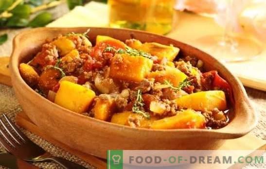 Свинското печење во бавен шпорет е едноставно, задоволувачко, вкусно јадење. Рецепти печено со зеленчук, печурки, компири и свинско месо во бавниот шпорет