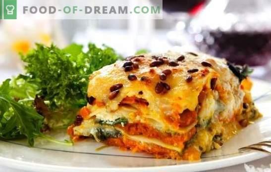 Лазања со сирење е уште едно парче, сенора! Рецепти за различни лазања со сирење и шунка, печурки, домати, пилешко