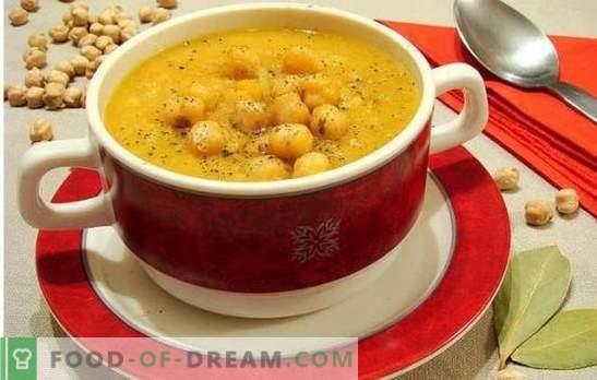 Супа со наут - ориентални белешки во секојдневното мени. Стари и нови рецепти на вкусна, ароматична и необична супа со наут