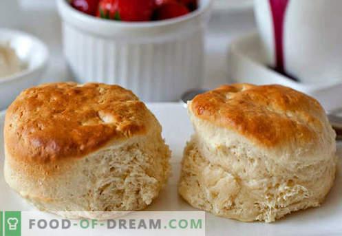 Квасети од квасец се најдобри рецепти. Како да правилно и вкусно готви булки од тесто од квасец дома