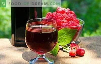 Vin de zmeură de casă - o aromă plină de rău! Umpleți cămara cu vinuri de zmeură: cele mai bune rețete