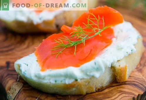 Рибините сендвичи се најдобри рецепти. Како да брзо и вкусно готви сендвичи со риба.
