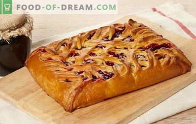 Со што полнење да се направи торта на павлака: слатка или месо. Рецепти од кисела павлака од различни видови тесто: авторот