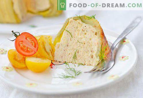 Суфле за дете - најдобри рецепти. Како да брзо и вкусно гответе го суфлерот за дете.
