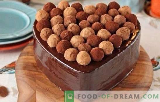 Тръфлова торта е ремек-дело! Рецепти за вкусни колачи со тартуфи со менинг, овошје, разни креми