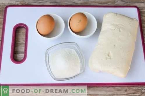 Puff Tubes - анти-кризниот десерт рецепт