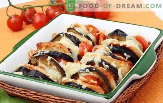 Зеленчук со сирење - не заборавајте да готви! Зеленчук со сирење, печен во рерна со пилешко, месо, печурки, ориз