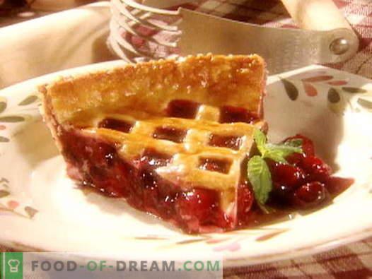 Пире од цреша - најдобри рецепти. Како правилно и вкусно да се готви цреша од цреша.
