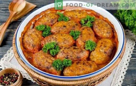 Мрзливи зелка ролни во рерната - нема место да биде полесно! Рецепти за мрзливи ролни од зелка во рерната со доматен павлака, сирење од различни видови месо и живина
