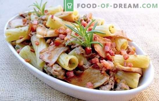 Тестенини со свинско месо во сета своја слава! Рецепти за печени и пржени тестенини и тестенини со свинско месо