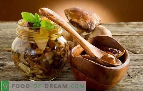 Кавијар со печурки од лук - основни правила за готвење. Докажани рецепти на печурки кавијар со лук и вистинските состојки
