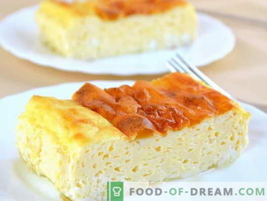 Бујна омлет - докажани рецепти. Како правилно и вкусно да се готви бујна омлет.
