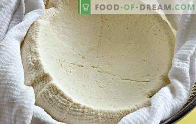 Како да се готви урда од јогурт дома: тоа е - едноставно. Домашна урда од јогурт - вкусна и здрава