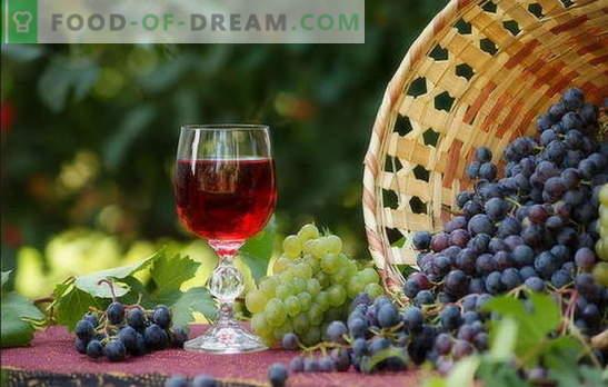 Виното дома е едноставен рецепт за богато пиење. Производство на домашно вино: едноставни рецепти за почетници