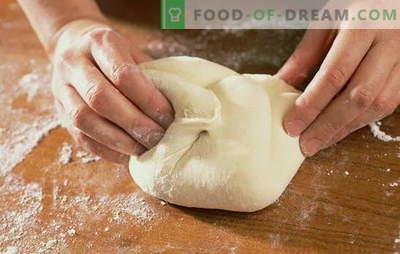 Пица тесто на вода: како да се готви и да се пече наједноставниот италијански плод. Пица тесто рецепти на вода