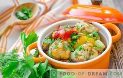 Пилешки гради во тенџере - победа-победа! Рецепти на нежна пилешка градина во саксии со зеленчук, печурки, хељда, овошје