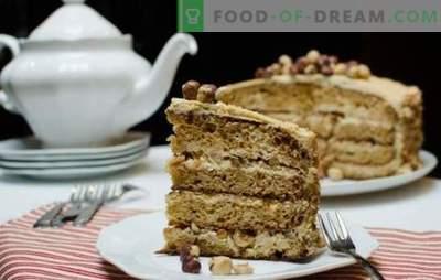 Златна торта - деликатен крем вкус! Изработка на торта