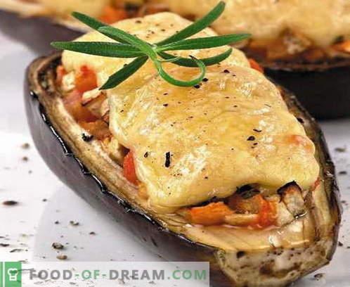 Модар патлиџан со сирење - најдобри рецепти. Како да правилно и вкусно готви модар патлиџан со сирење.