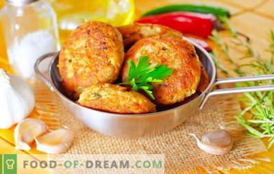 Rozā laša kotletes ir zivju mīļotāju šedevrs. Receptes rozā laša gaļai ar sieru, rīsiem, biezpienu, kalmāriem un zaļumiem