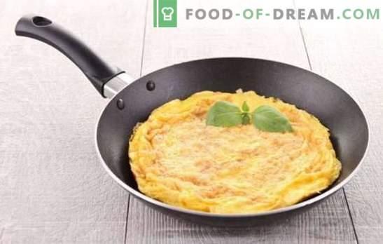 Класичен омлет - француски појадок. Како да се готви класичен омлет: едноставни и вкусни рецепти