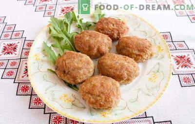 Сечкалки со леб - може да бидат секогаш бучни! Рецепти ќофтиња со мелено месо, пилешко, разни меса и зеленчук