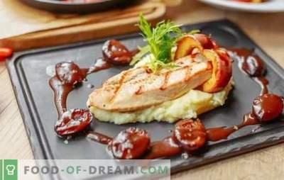 Турција на скара - максимален вкус и корист! Печено месо на грил во домат, кефир, мед, вино, синап маринада