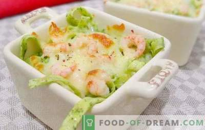 Фетуцин со ракчиња - Италијански тестенини со вкус! Рецепти за неверојатни феттучини со ракчиња и крем, домати, тиквички