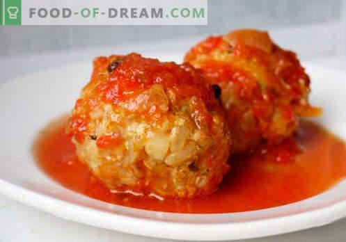 Мелења од мелено месо - докажани рецепти. Како да се правилно и вкусно варени ќофтиња од мелено месо.