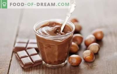 Домашна чоколадна крема. Исклучителен десерт и декорација за домашна торта: разновидни рецепти за чоколадна крема