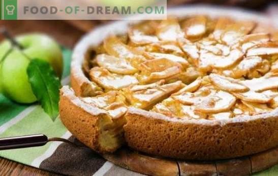 Нежна шарлотка со кисела павлака и јаболка е деликатес на целото семејство. Како да се направи шарлот со павлака и јаболка од сув леб