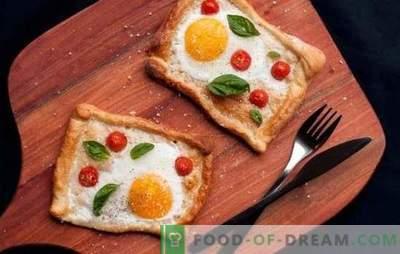 Пржени јајца со домати е безбедна опција за брз појадок или лесна вечера. Начини да се прават вкусни пржени јајца со домати