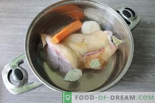 Свински свитче желе - хранливо, негување и вкусно јадење
