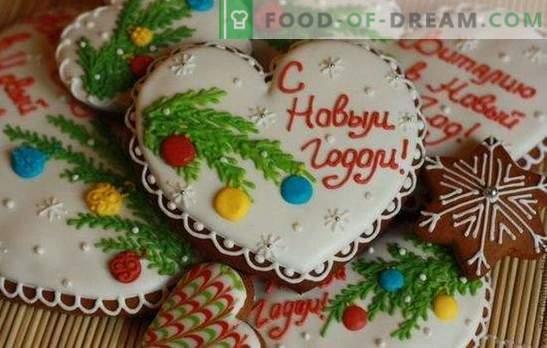 Jõulud piparkoogid - kaunistus, suveniir ja lihtsalt nami! Traditsioonilised ja väljamõeldud retseptid jõulude piparkoogile