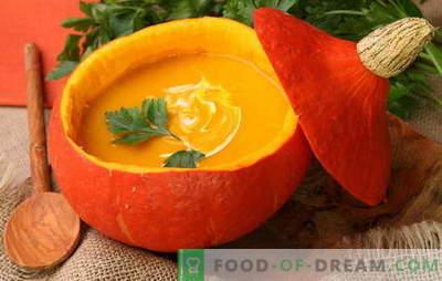 Вкусни јадења од тиква - рецепти за супи, одделни јадења и десерти. Како да се готви вкусни јадења од тиква - рецепти за сите прилики
