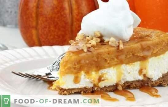 Десерт од тиква - додадете светли бои на облачна есен. Како да се готви вкусна десерт од тиква брзо, вкусно, витамин