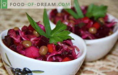 Винагрет со зелка - расејување на витамини и придобивки. Рецепти за готвење познати од детството винегрет со кисела зелка