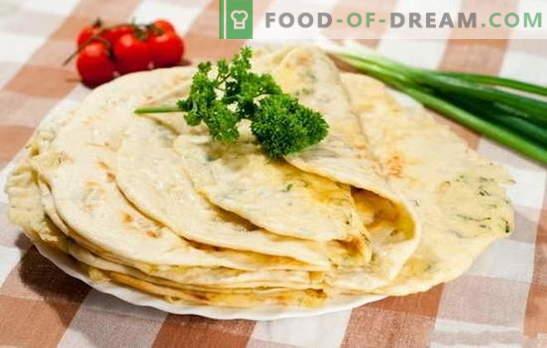 Чудо со месо - СРЈ без масло! Избор на рецепти чудо со месо од различни видови тесто во садот и во рерната: аромата на Кавказ