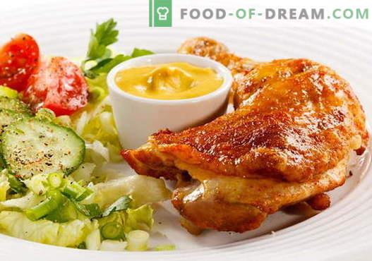 Пржено пилешко - најдобри рецепти. Како да се готви пржено пиле.