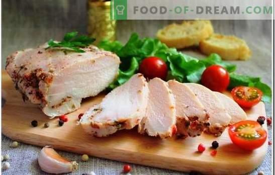 Пилешки гради е уникатна состојка за секој оброк. Како да се готви пилешкото гради: колку време е потребно да се готви до варен