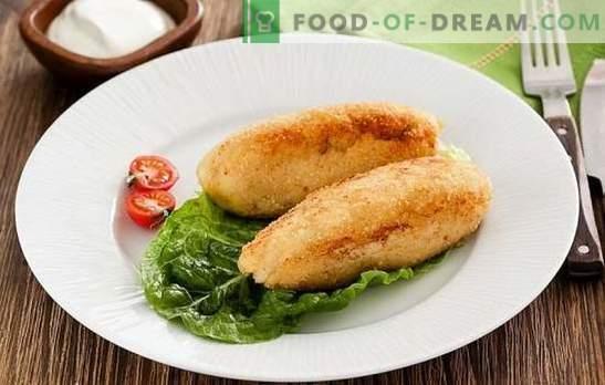 Здрава риба - едноставно, здраво, вкусно јадење. Рецепти од риба јадења со печурки, јајца, сирење, кисела краставици