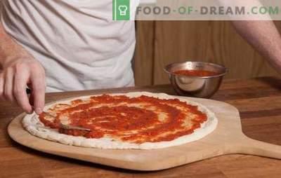 Сос од домати за пица е основа на италијанската пита! Рецепти домати сосови за пица од домати, тестенини, лук, маслинки