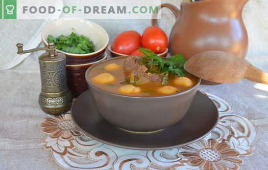 Ерменските супи се ремек-дела меѓу првите курсеви. Рецепти ерменски супи со зеленчук, леќа, грав, јогурт, ќофтиња