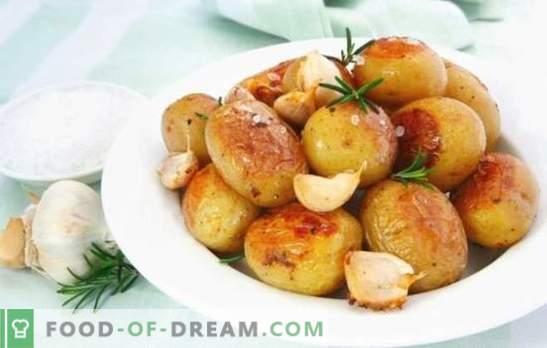 Компир со лук е задоволувачки и здрав. Готвење опции за омилени компири на сите со лук