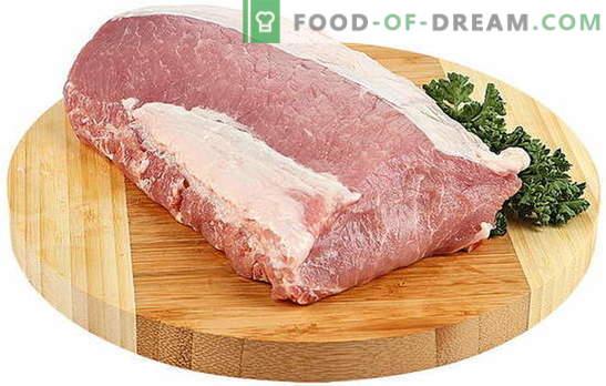 Како да се готви, така што месото од свинско месо е меко - најдобрите рецепти и кулинарски набљудувања. Нијанси на готвење свинско месо