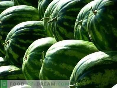 Како да ги чувате лубениците
