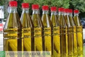 Како да се чува сончогледово масло