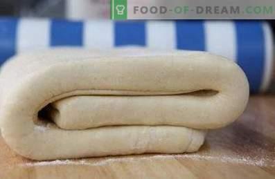 Крзно тесто од лиснато